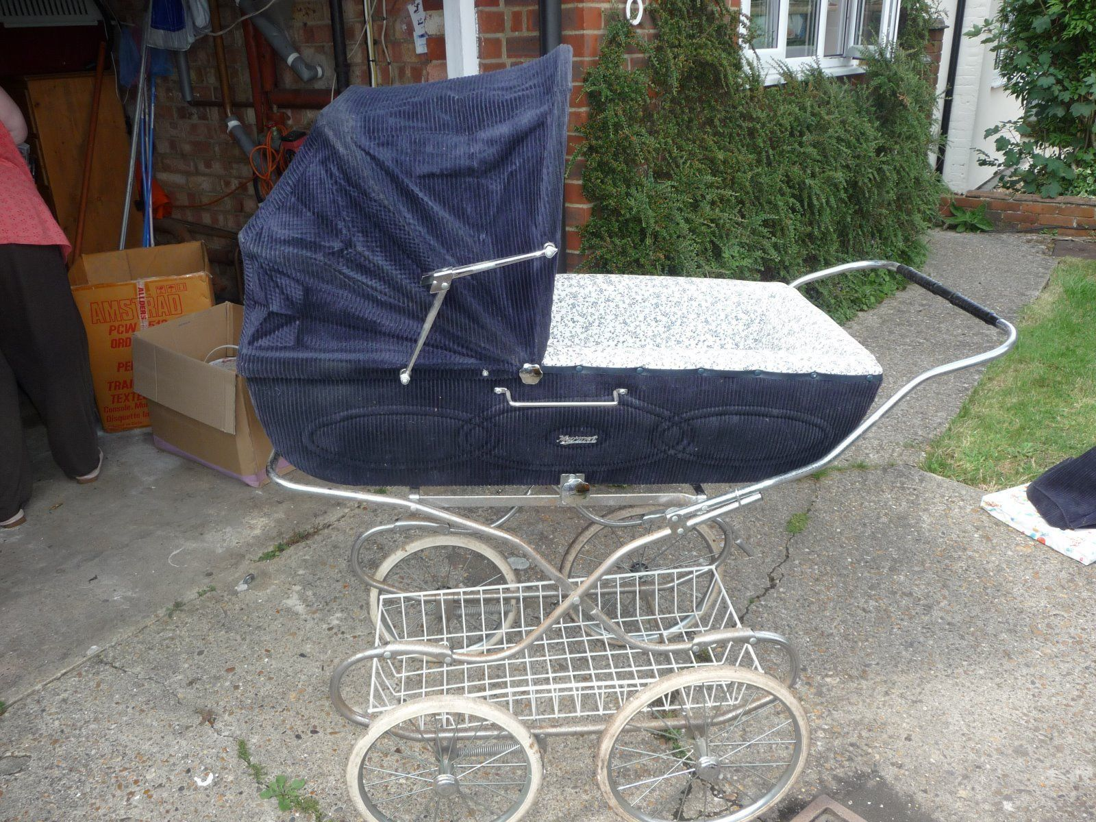 Silver Cross Pushchairs On Ebay Vintage Marmet Silver Cross Coach Built Pram Ebay Old
