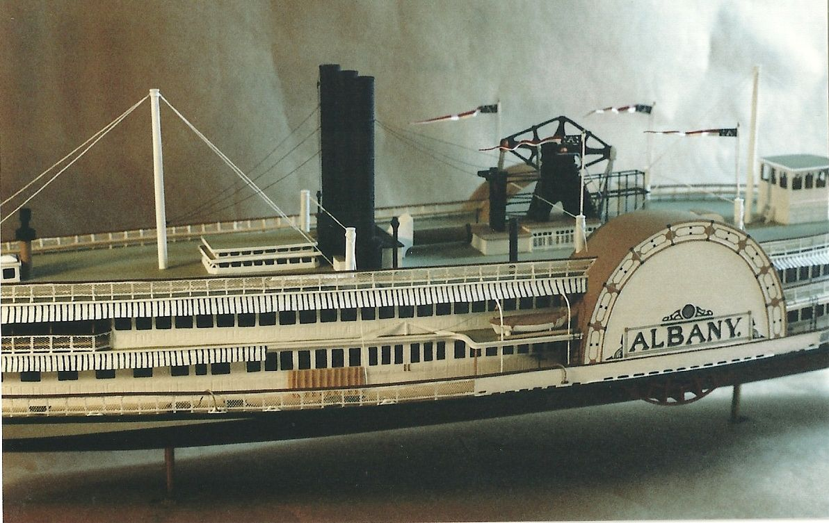 Hudson River Model Steamboats Collectible And Rare The Steamboat Model Rex Stewart Model Ships Paddle Wheel Steamboats