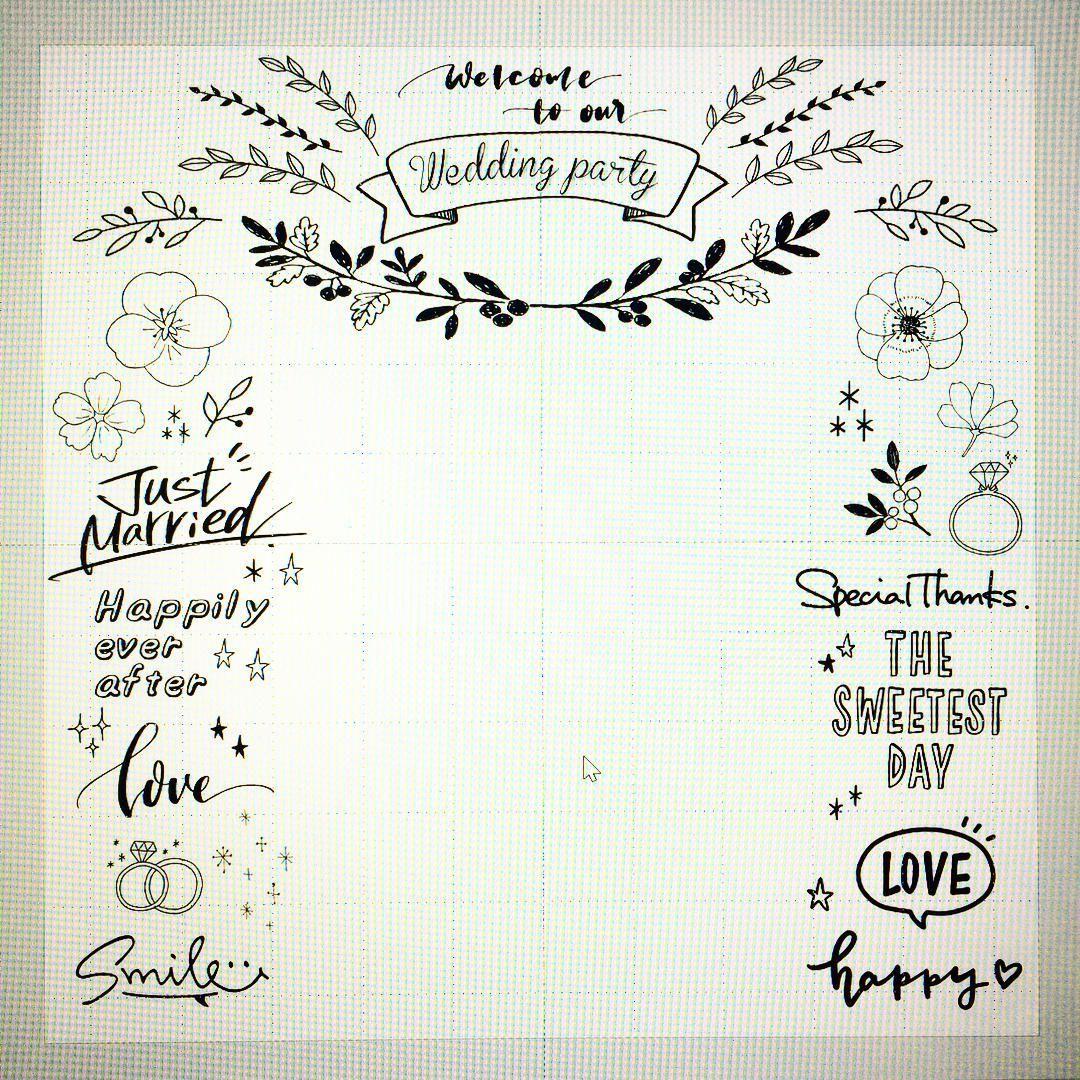 結婚式DIYのデザイン作りに役立つおすすめ素材集まとめ