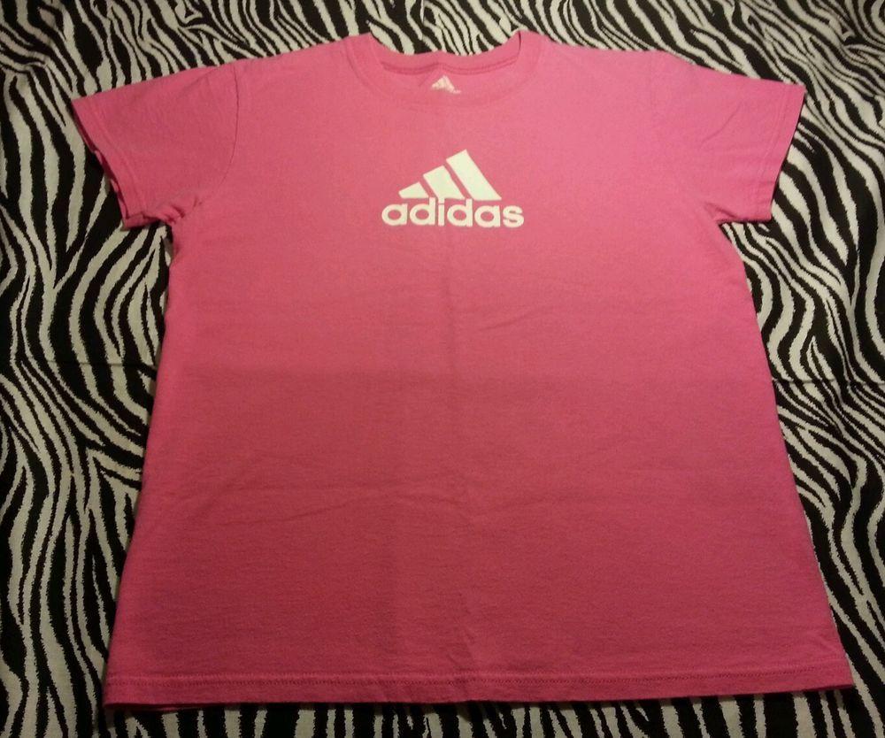 Adidas Woman Pink Logo 19979 Adidas Tee Shirt Top Size Pequeño Size ~ #adidas #BasicTee 4b8be4e - grind.website