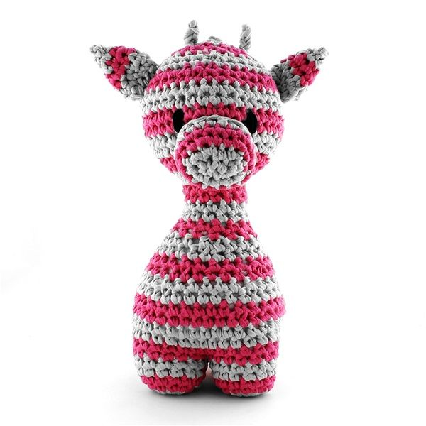DIY Häkelanleitung Giraffe Ziggy Striped | Hoooked | hä (c)kchen ...