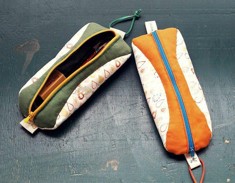 Pencil Case Fabric   Zipper pencil case, Cosmetic bag ...