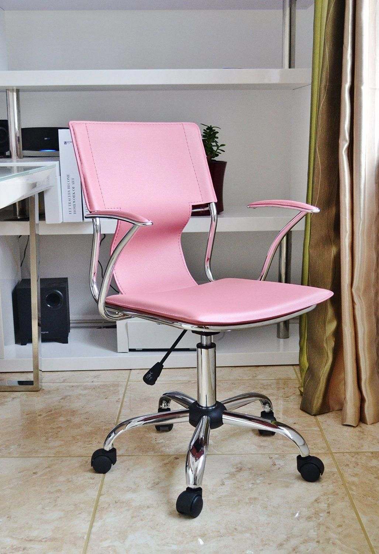 girls pink desk chair red chaise lounge cutedeskchair outdoor dining cushions pinterest tufted diy