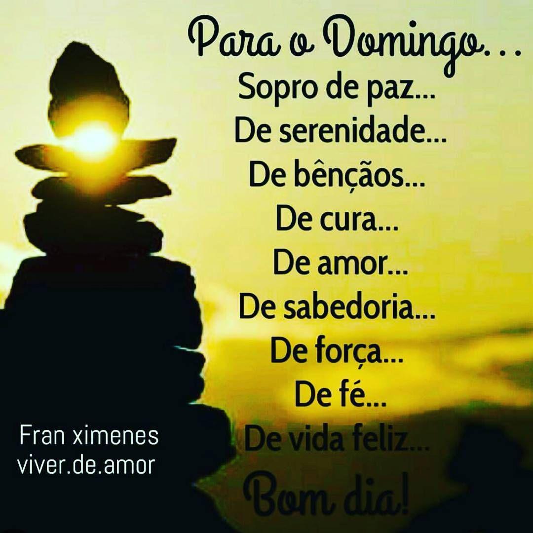 Muitas vezes Feliz dia! Feliz domingo! Mensagem linda de @franximenes_poesia  RU69