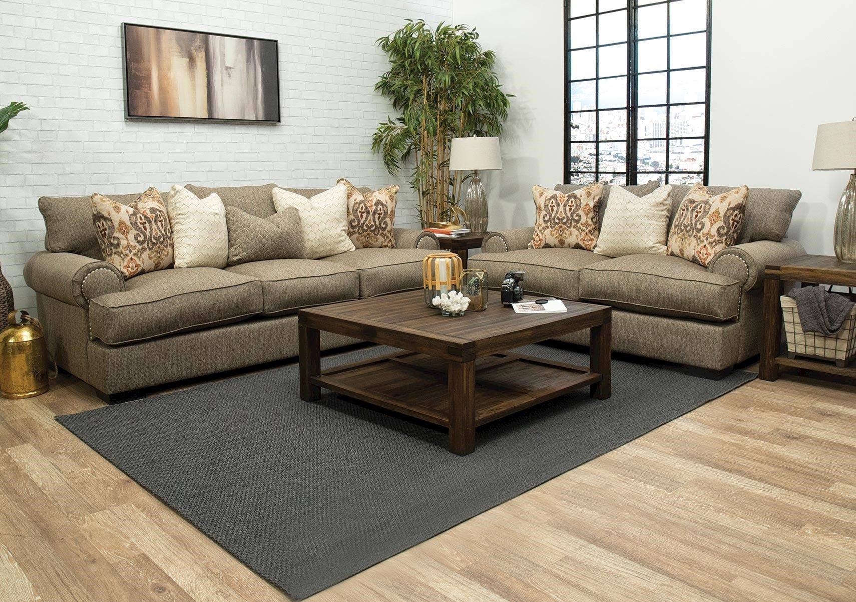 lacks | javelin 2-pc living room set | living room sets