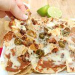 ultimate spicy beef nachos