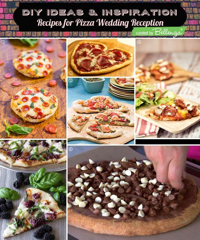 Pizza Wedding Reception Ideas: What To Serve Your Guests At A Casual Wedding Reception