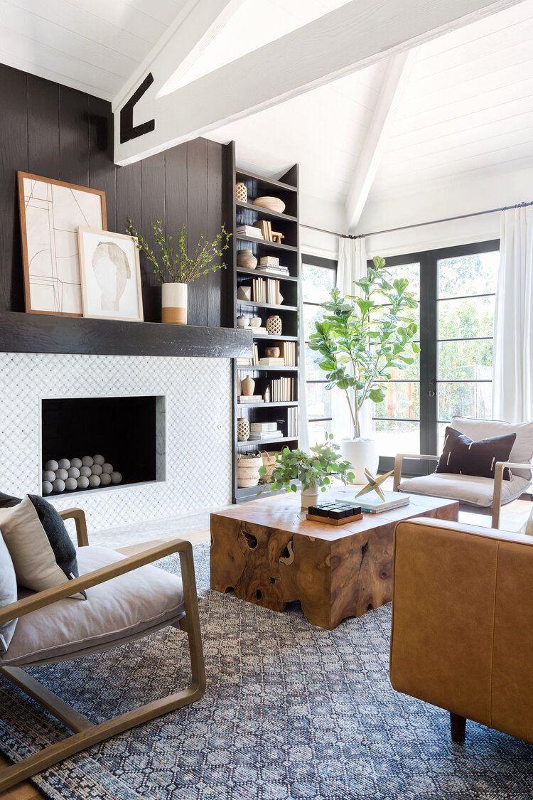 Modern Wood Living Room Luxury Neutral Living Room Design Tribal Decor Wood Coffee Mebel Gambar Wood living room decor