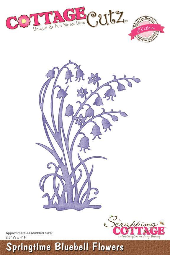 CottageCutz Springtime Bluebell Flowers (Elites)