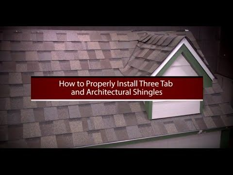 How To Install Asphalt Shingles By Roofingintelligence Com Youtube Roof Shingles Shingling Asphalt Roof Shingles
