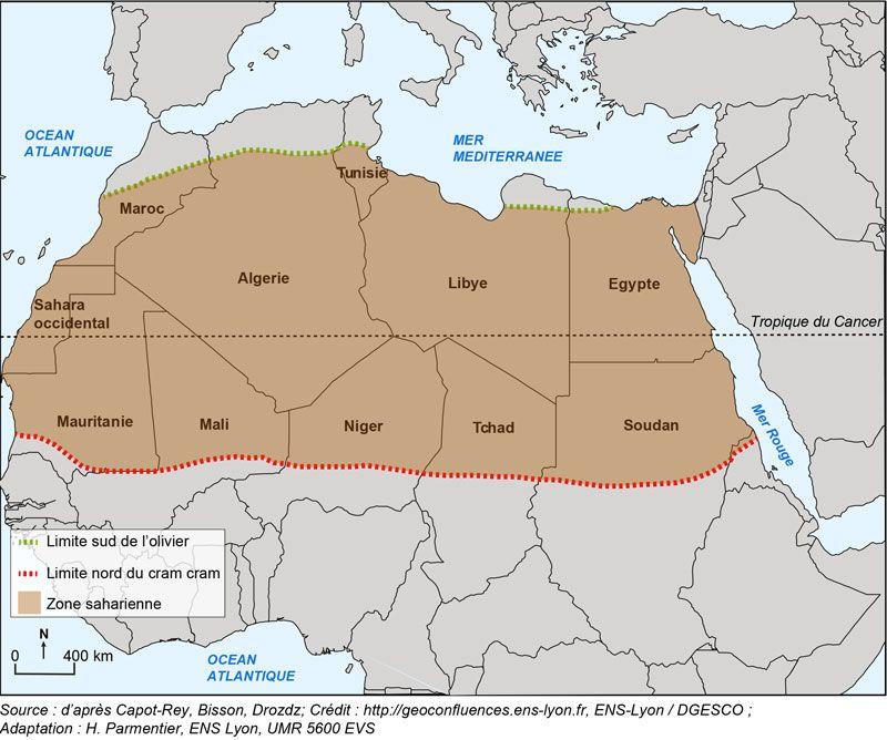 Etude de cas : le Sahara par les cartes (1ère partie).   blog