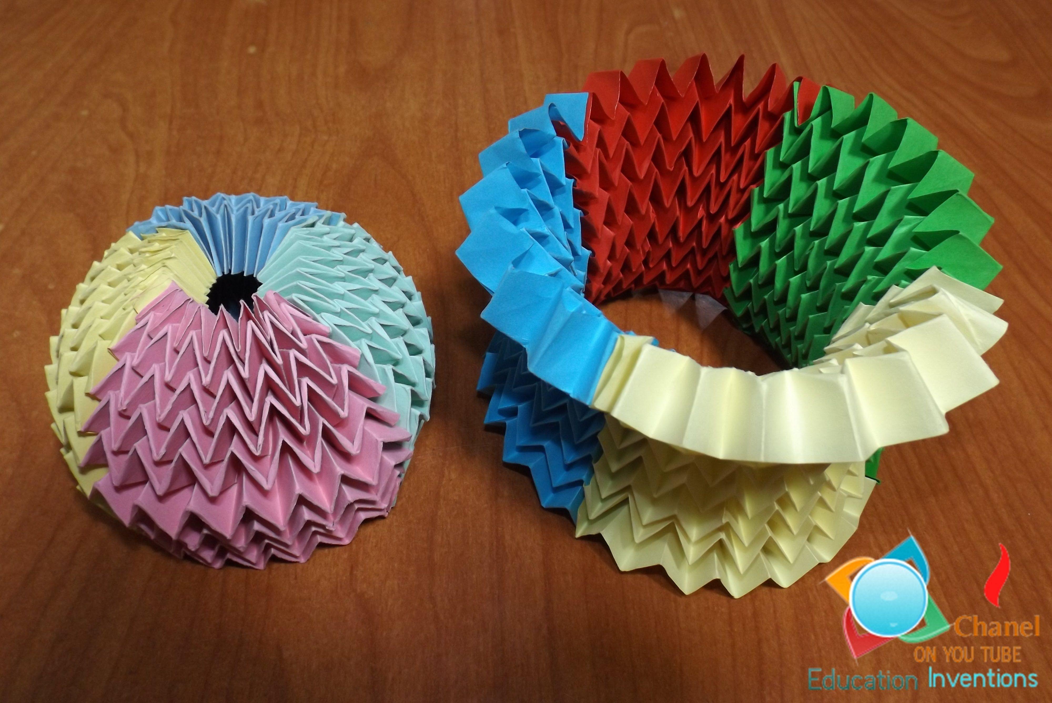 tutorial origami magic ball
