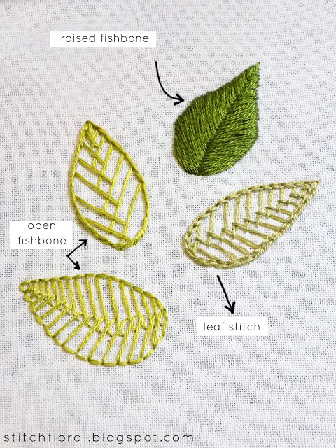 3D Leaf Stitch Tutorial - Crochet & more - Design Peak