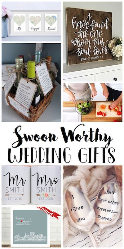 Beautiful off the registry wedding gifts that the couple will love! #wedding gif…