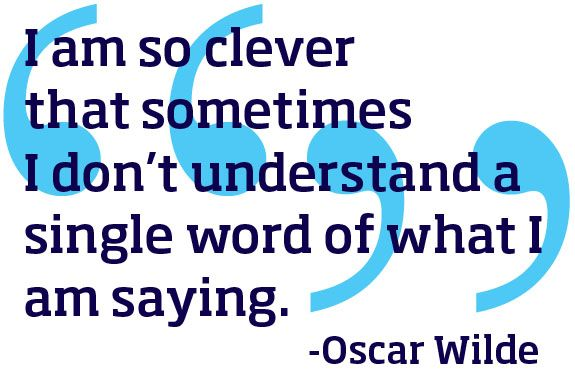 Oscar Wilde style