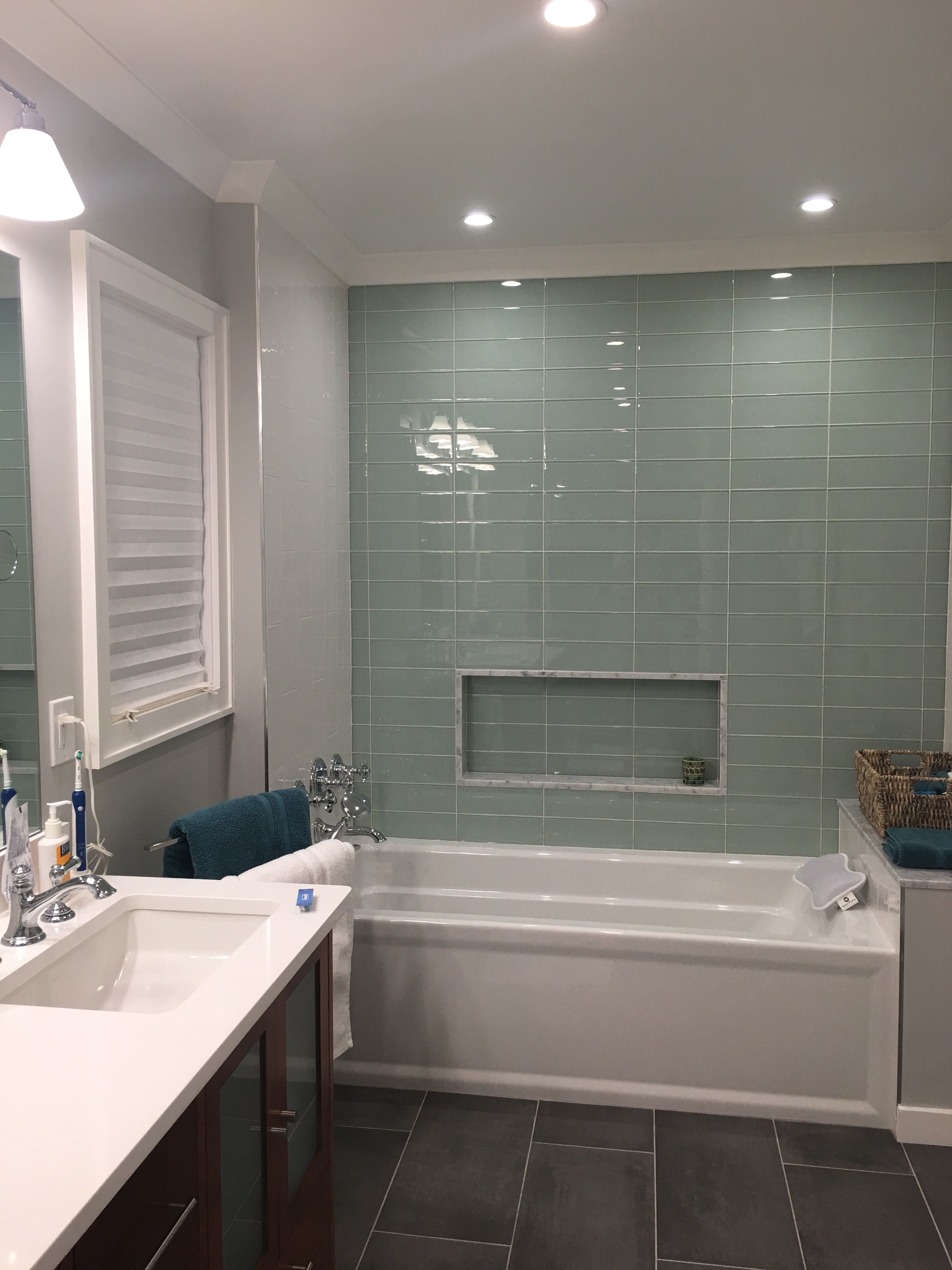 Tile Accent Wall In Shower