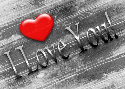 I love you harthout axe and met i love you harthout valentijnskaarten kaartje2go voltagebd Choice Image