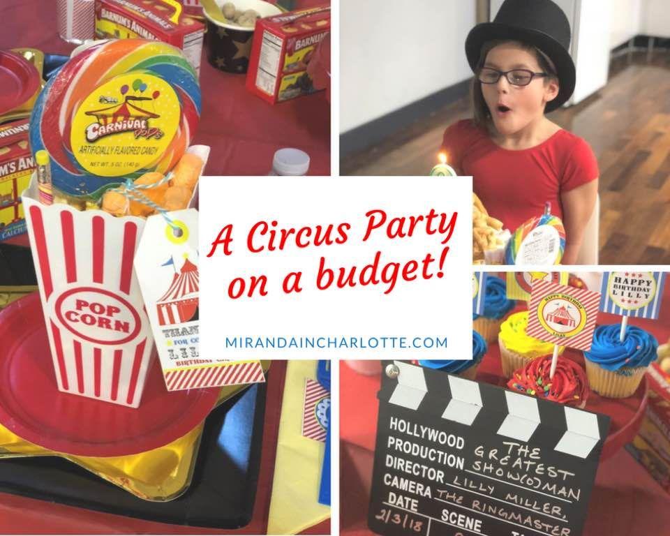 party, parties, kids birthday, circus, carnival, printable, diy, funnel cake, popcorn, movie, greatest showman, aerial, silks