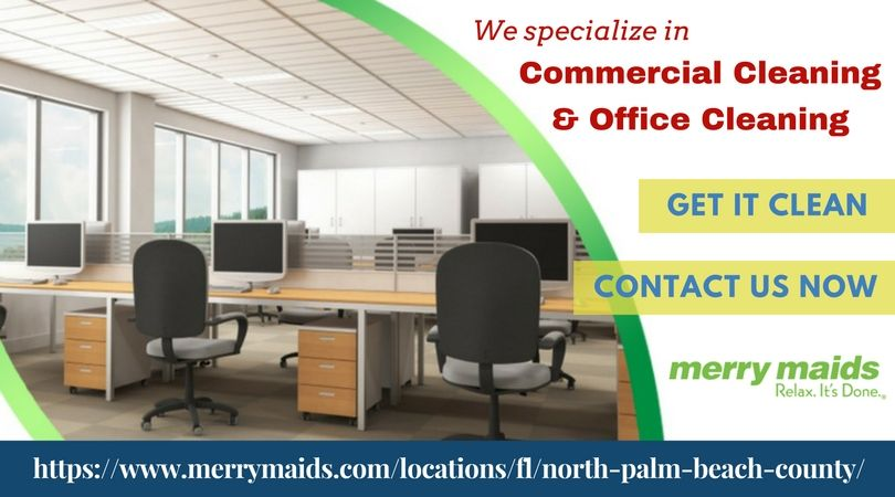 Affordable Commercial Cleaning Services In Jupiter Modern Office Interiors Small Space Office Modern Office Space