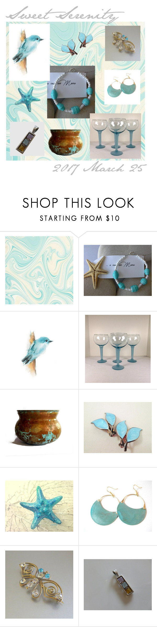 """""""Sweet Serenity"""" by anna-ragland on Polyvore featuring vintage"""