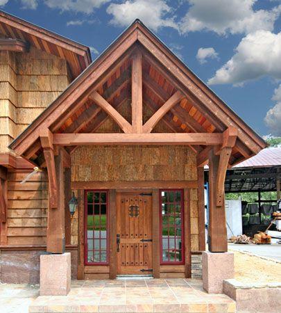 Timber Frame Home Photos and Portfolio of Work