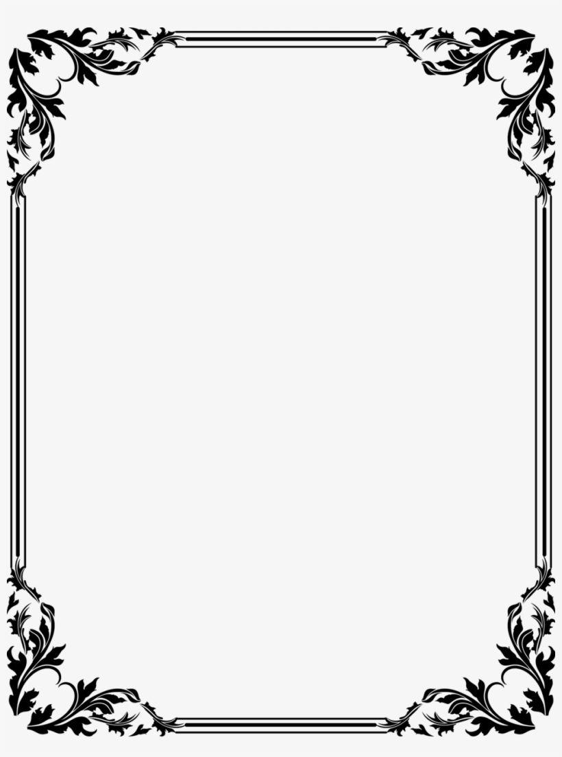 Page Frame Border Design Page Borders Design Frame Border Design Border Design