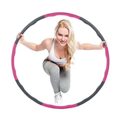 pin by free bellydance classes on bellydance workouts hula hoopfitness splicing hula hoop,8 section detachable design,2 s