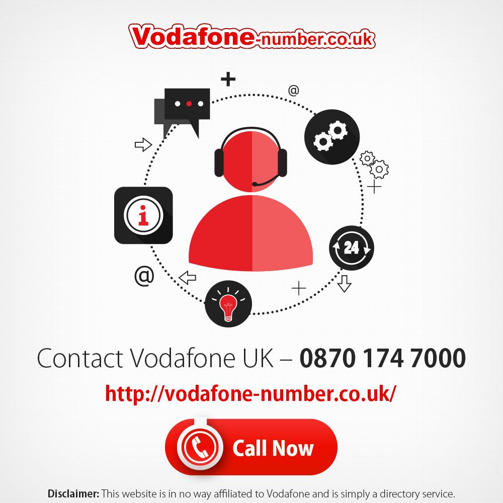 Http Vodafone Number Co Uk Is Proud To Present A Dedicated Number To Contact Vodafone In Uk Call 0870 174 7000 Now And Vodafone Supportive Administration