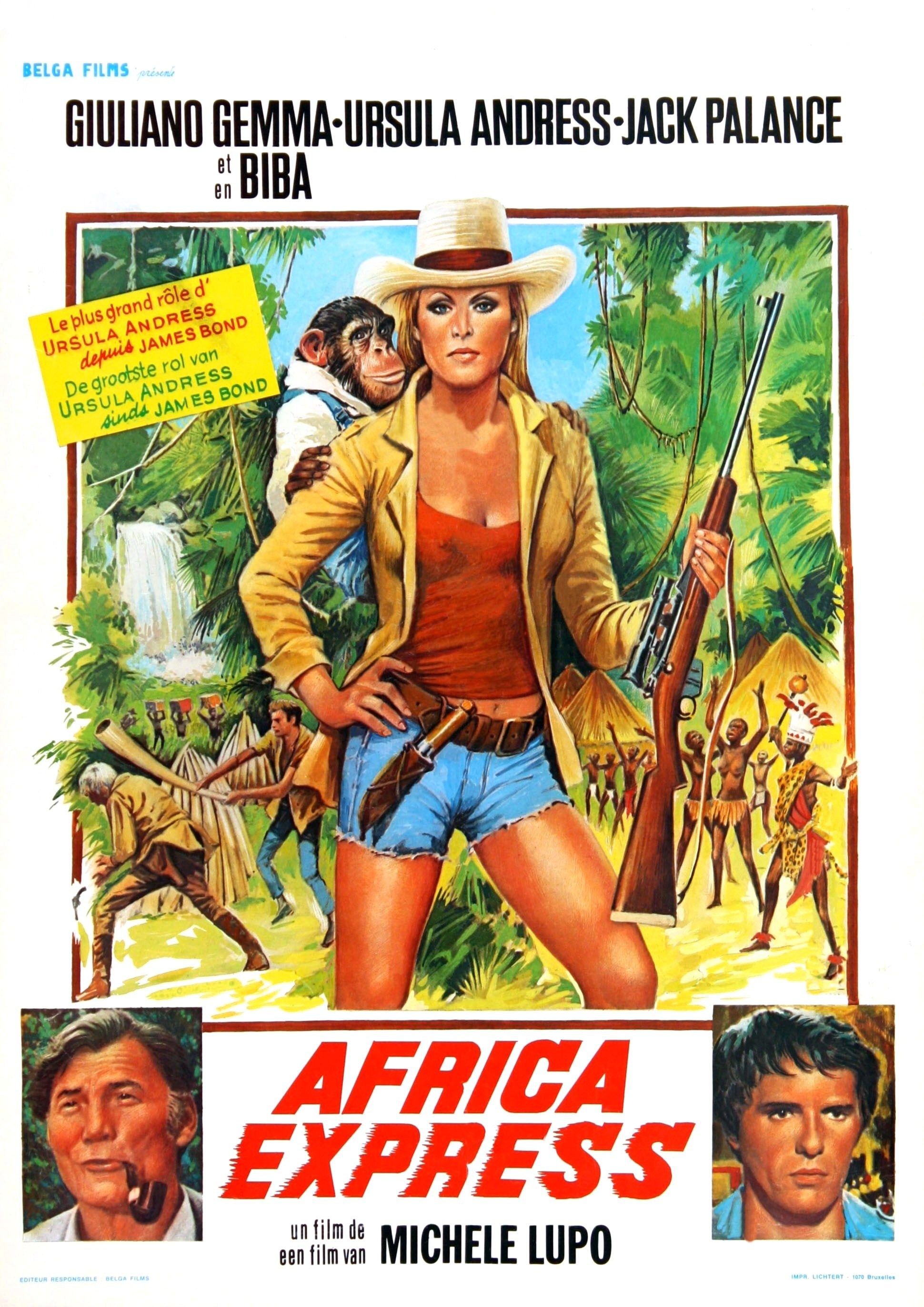 Jack Palance Filmes Beautiful africa express (1976) - gulliano gemma - ursula andress - jack
