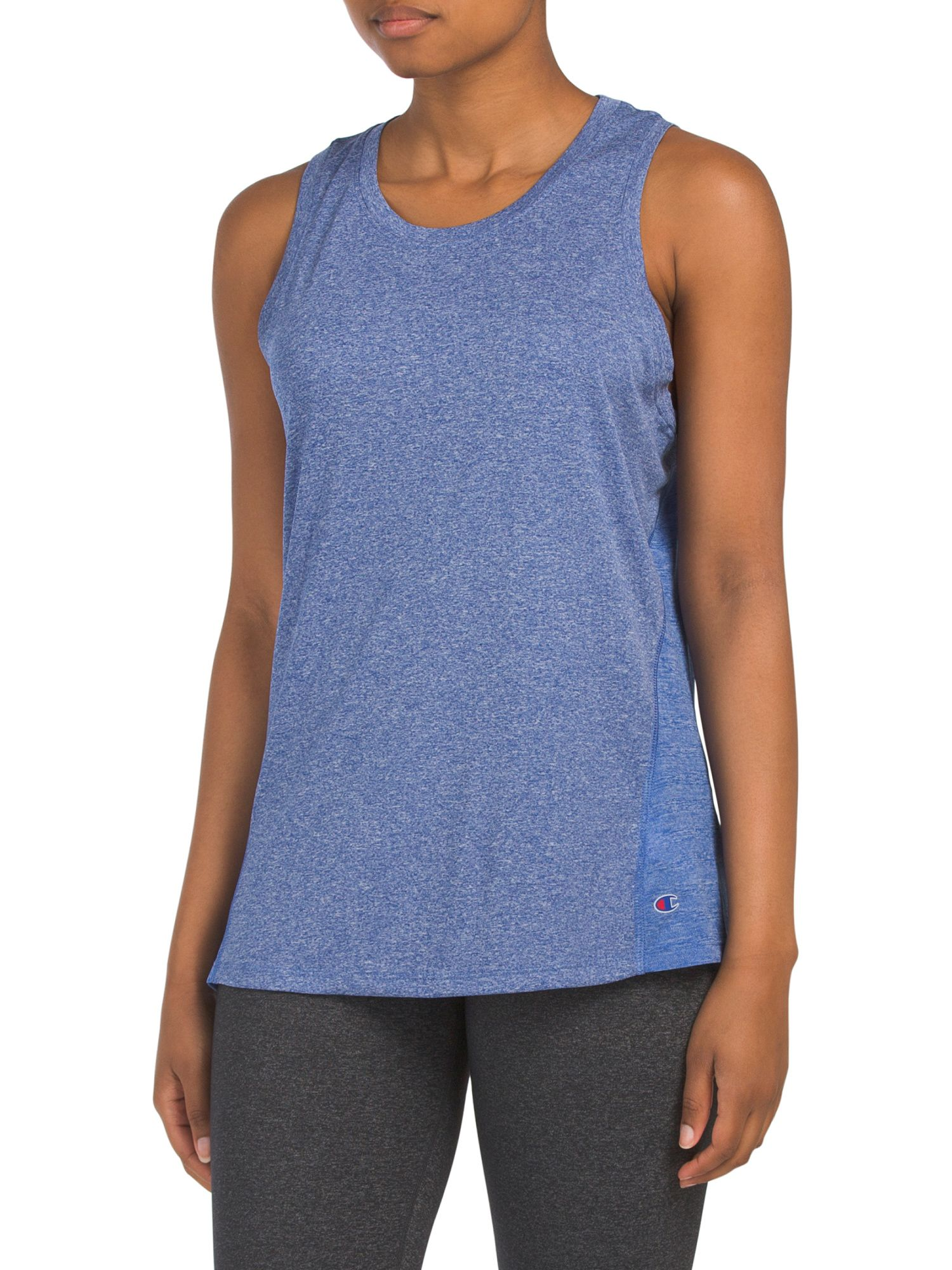 98332aed4931 Double Dry Heather Tank in 2019 | Working it | Mens tops, Tank tops ...