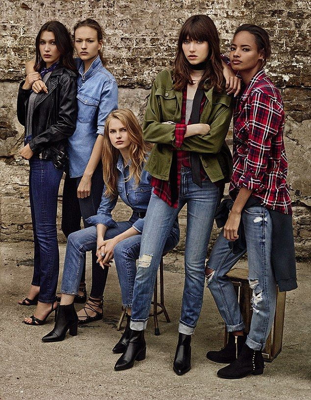 The team behind the shoot said they looked to this 'stylish and cool girl group' once agai...