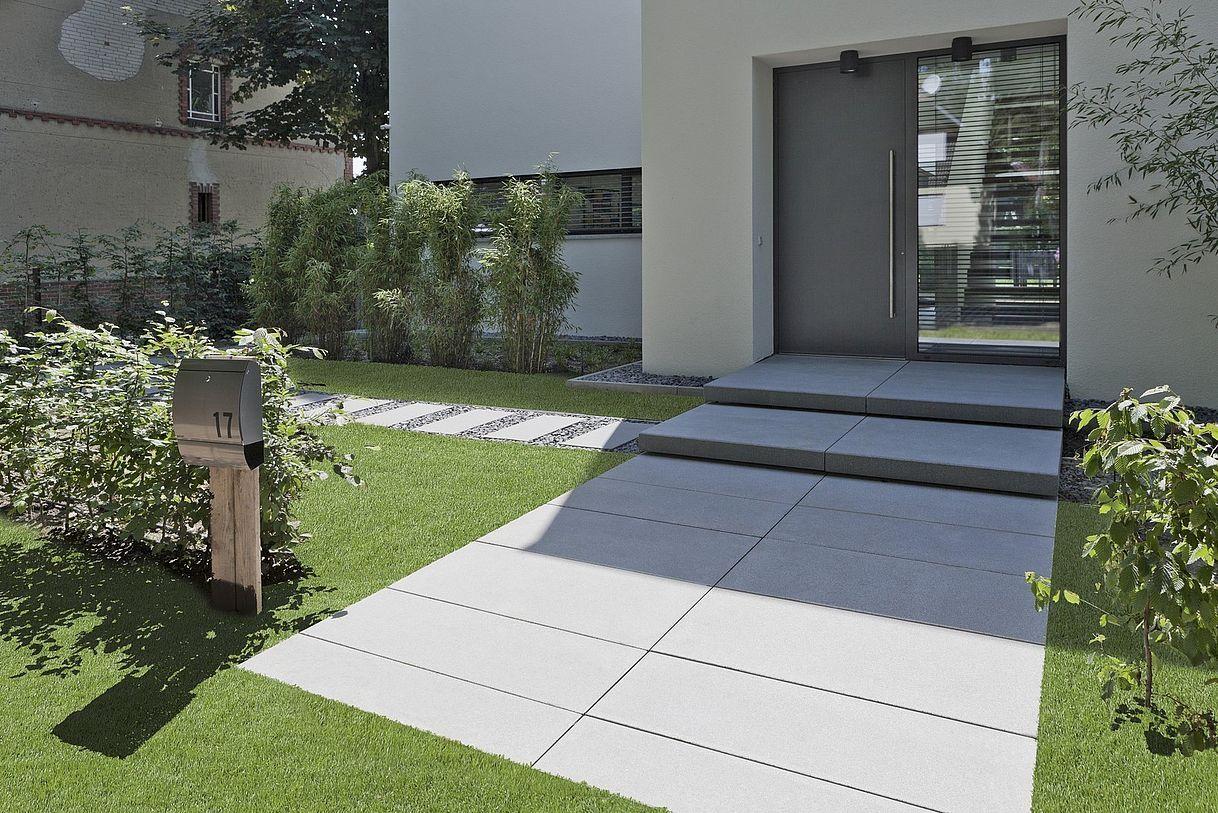 Signo Platten von Rinn Betonsteine und Natursteine - Rinn Betonsteine und Natursteine #betonblockgarten