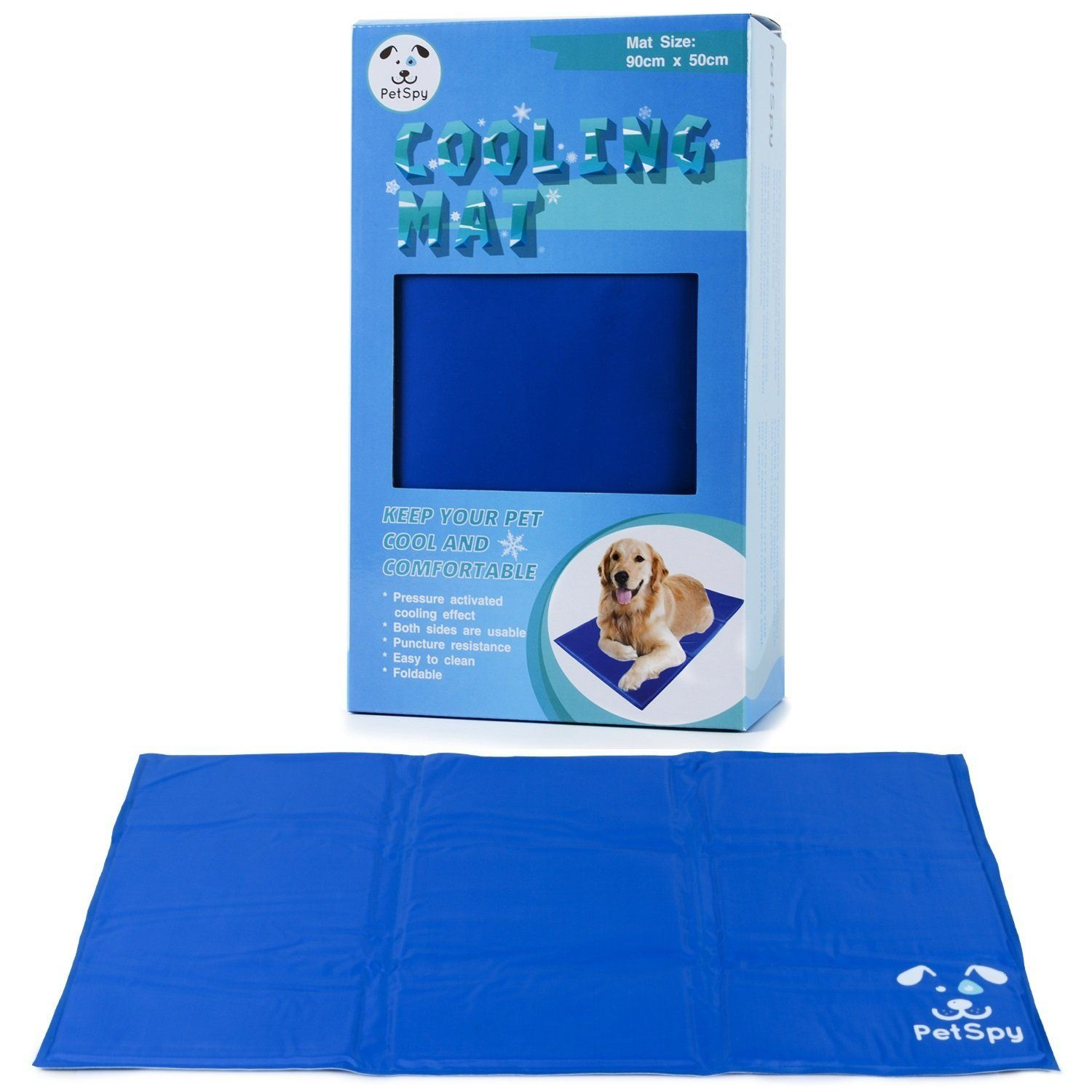 Catspy Cat Cooling Mat For Dogs And Cats With Chilly Gel Pad Large Discover This Special Cat Product Click The Im Pet Cooling Mat Pet Pads Dog Cooling Mat