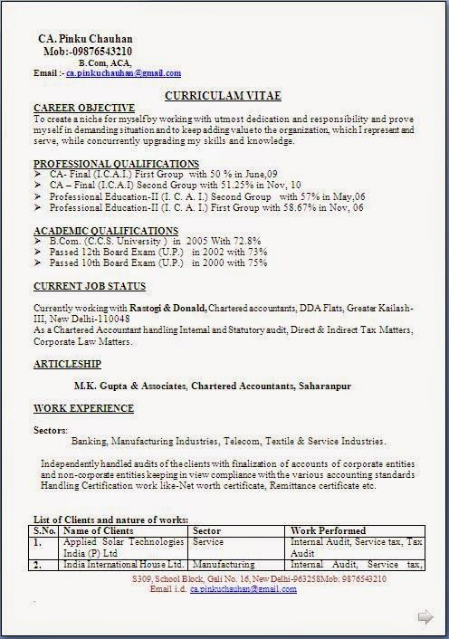 Europass Curriculum Vitae Example Sample Template Example Of