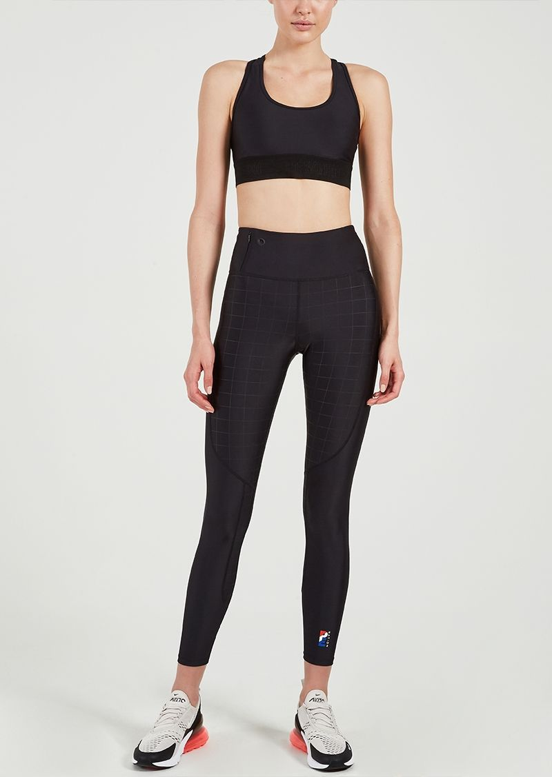 82808d5802 Victorious Legging | Black | High-rise Gym Tight | P.E Nation ...
