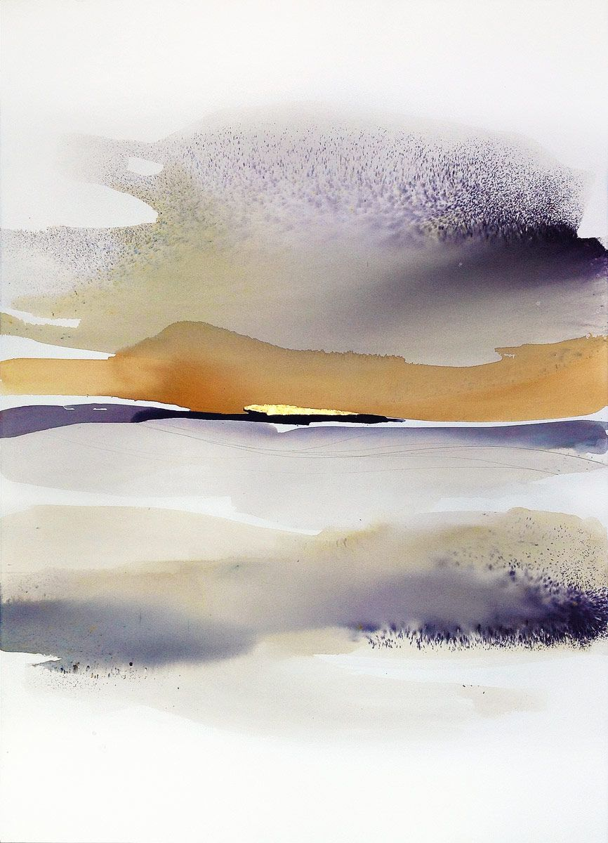 Sabrina Garrasi In The Morning Watercolor Ink Pigments And