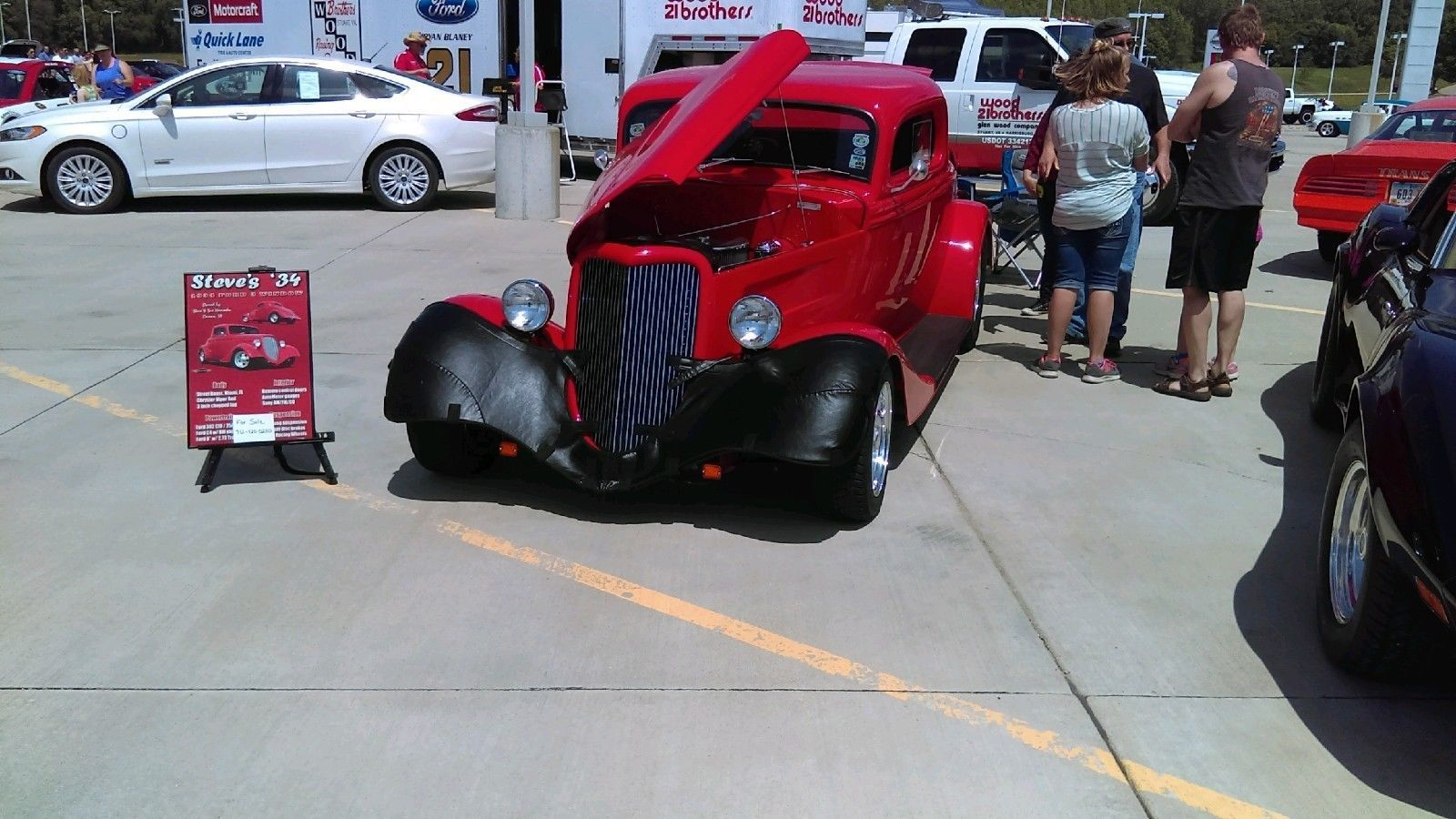 1934 Ford 3 Window Coupe Coupe Ford Hot Rods