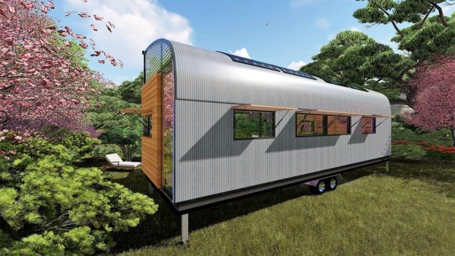 Tiny House Granada Kleines zuhause, Giebelfenster und