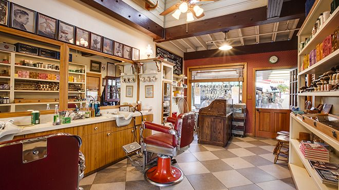 Old Fashioned Barber Shop Nyc