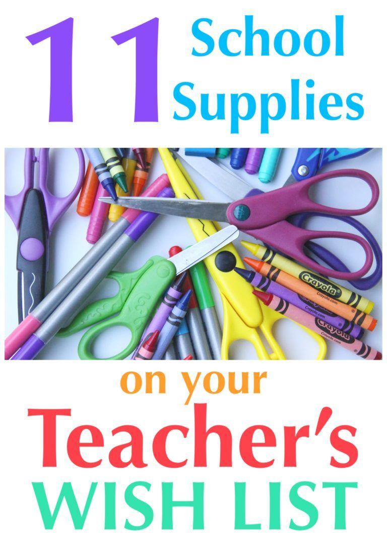 11 school supplies on every teacher u0026 39 s wish list  u2022