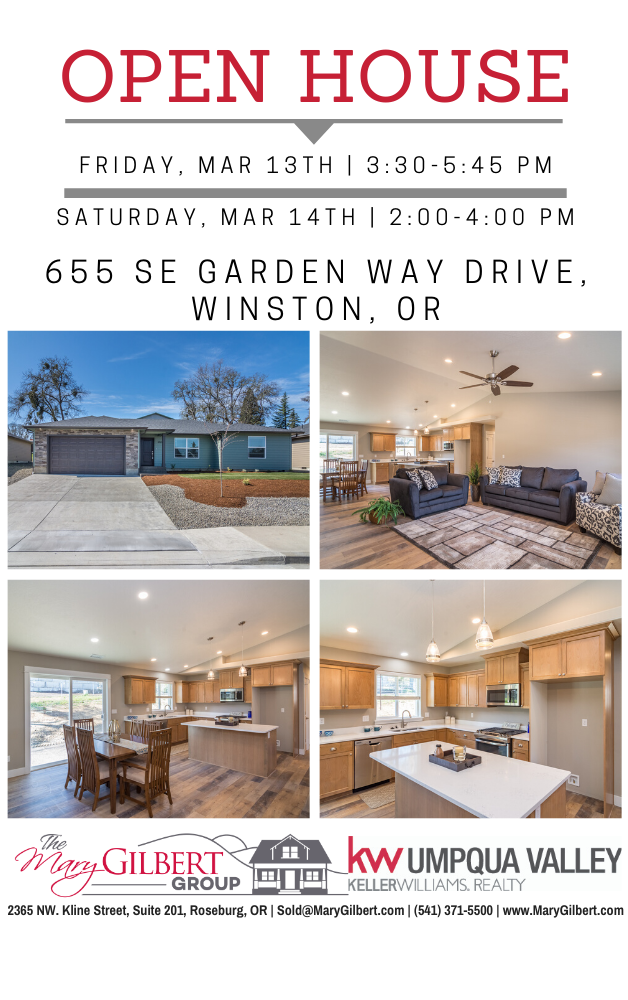 Winston Or Open House In 2020 Open House One Level Homes House
