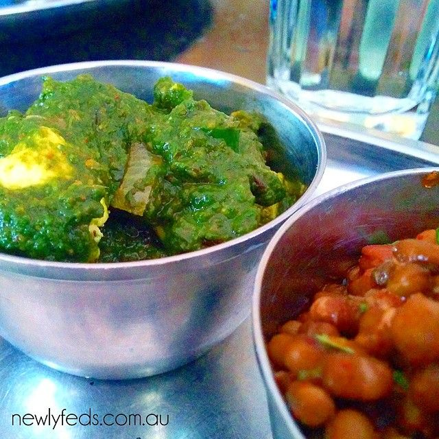 Palak Paneer and Dal Makhni made at the Nilgiri's vegetarian cooking class with chef Ajoy Joshi #pearlsofwisdom #palakpaneer #dal #dalmakhni #paneer #nilgiris #indiancuisine @redballoonexperiences #bestpresent