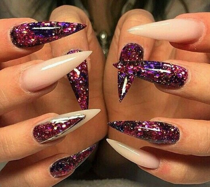 I don\'t really like the nail shape but I love the color ...
