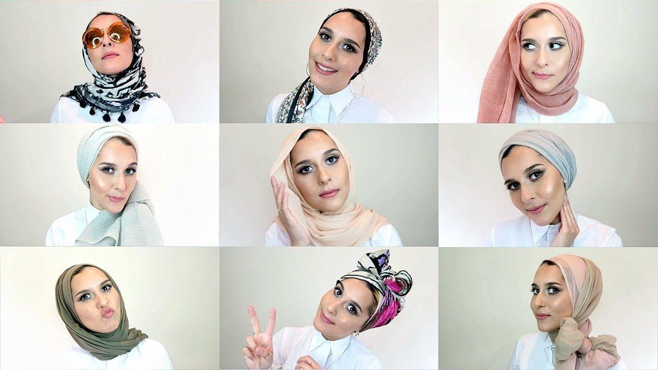 how to tie a turban hijab