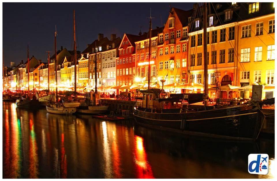 Copenhague de noche