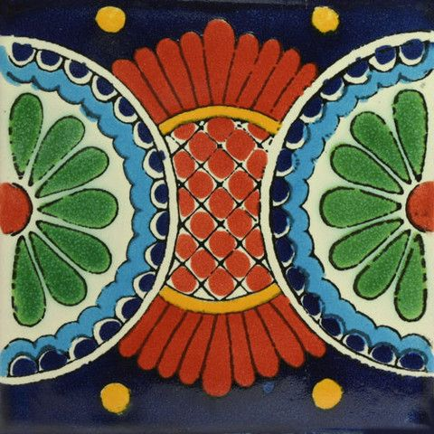Traditional Mexican Border Tile - Guia de Arcos - fliesen bordre