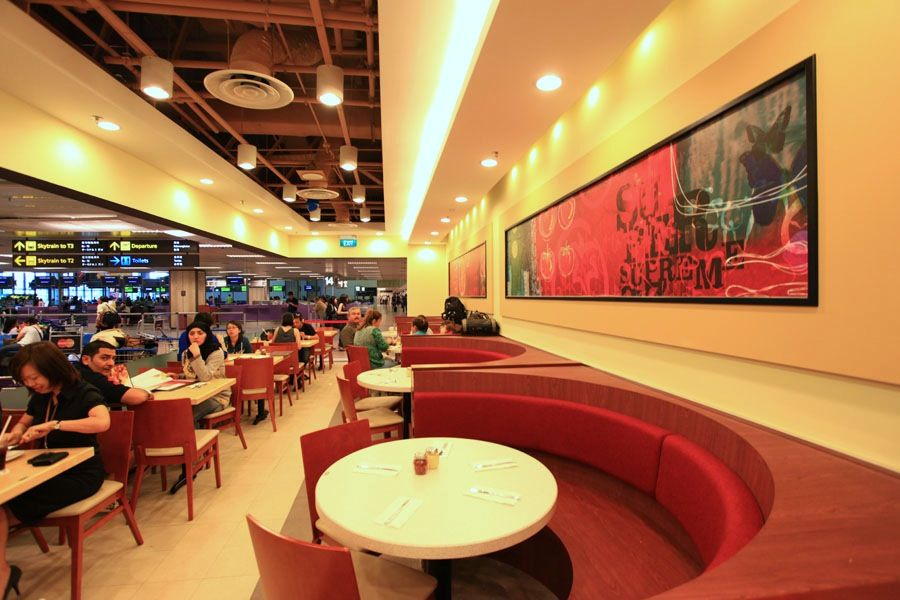 Pizza Hut Change Love The Booth Seating Very Contemporary