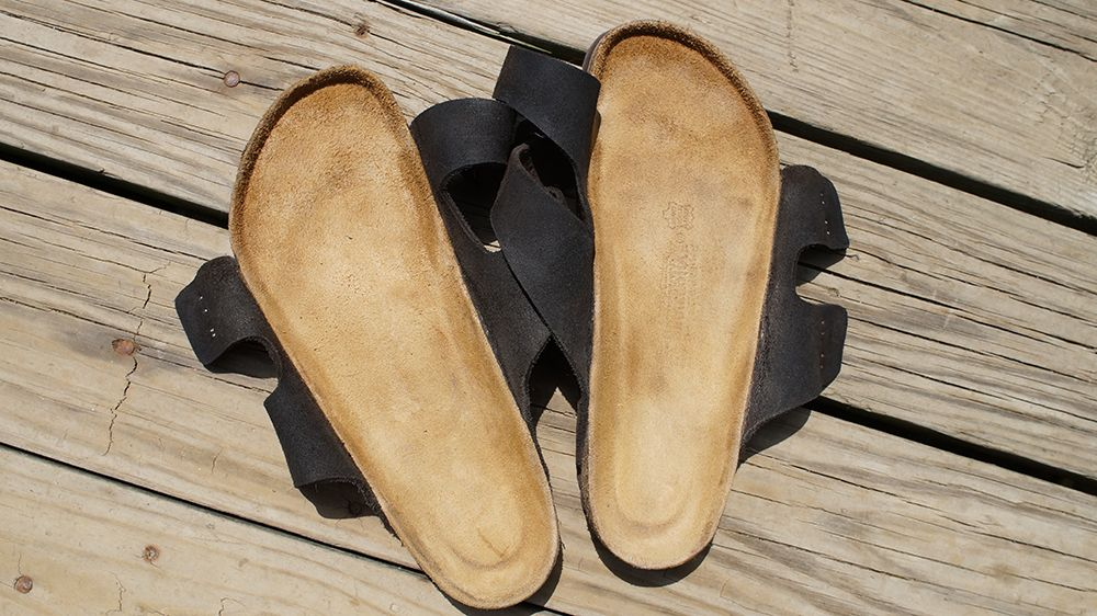 87a1bcb7784 Cleaning Birkenstocks at home with readily available ingredients. It s  easier than you think.