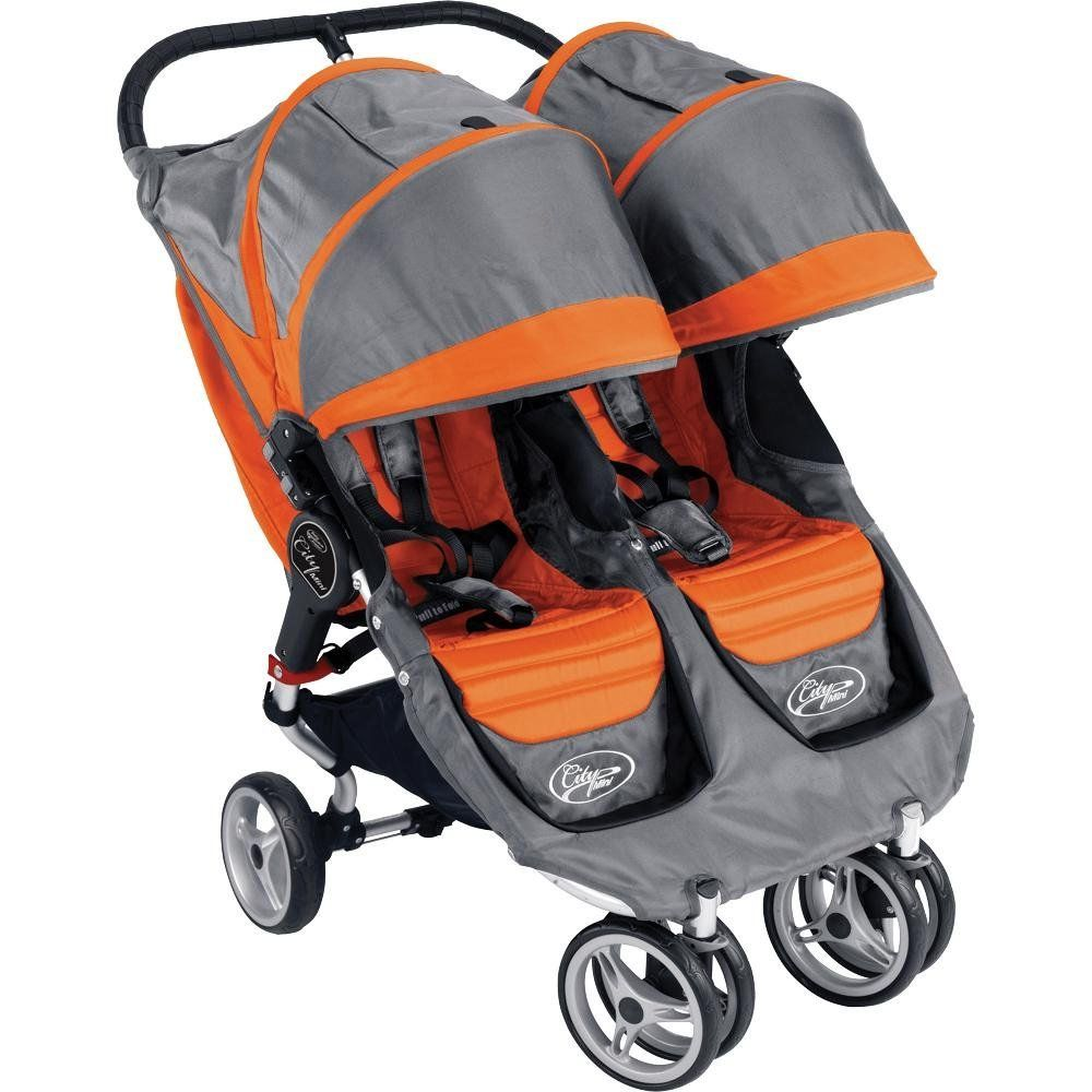 Now that we have 2! City mini double stroller, City mini