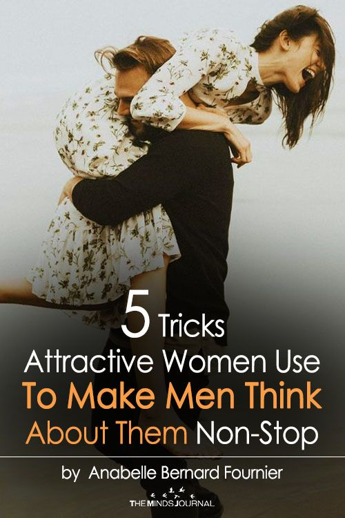 5 Psychological Tricks Women Use To Make Men Think